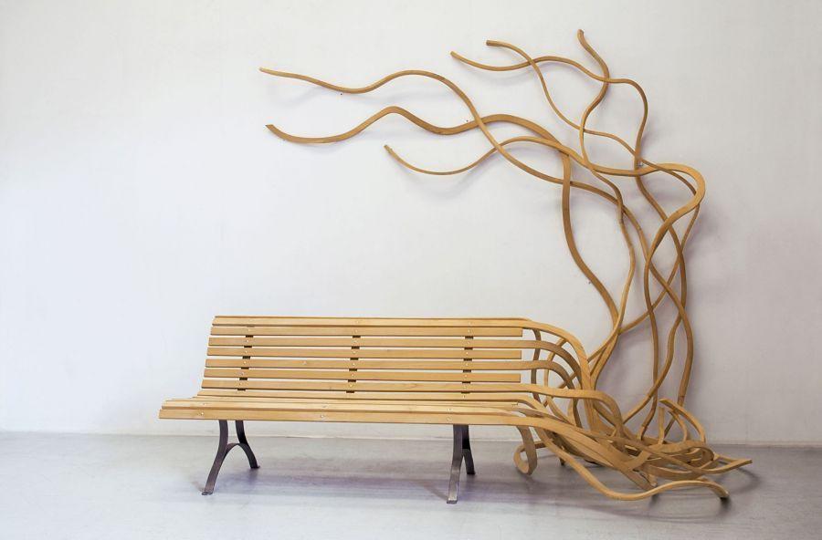 Móveis esculturais de Pablo Reinoso