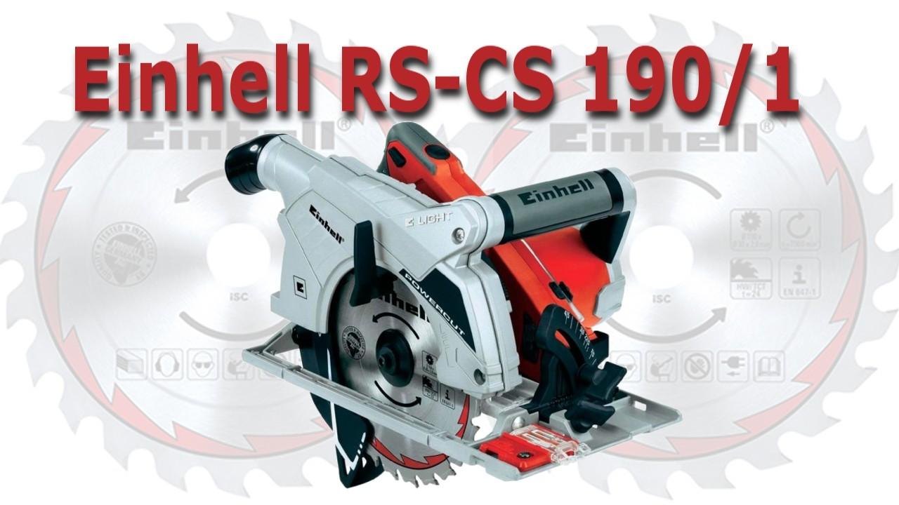 Serra Circular Einhell 190/1 – Review