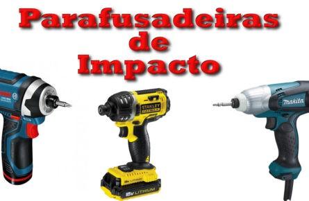 Como funciona uma parafusadeira de impacto
