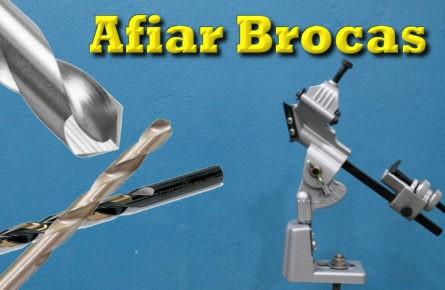 Duas formas de afiar brocas
