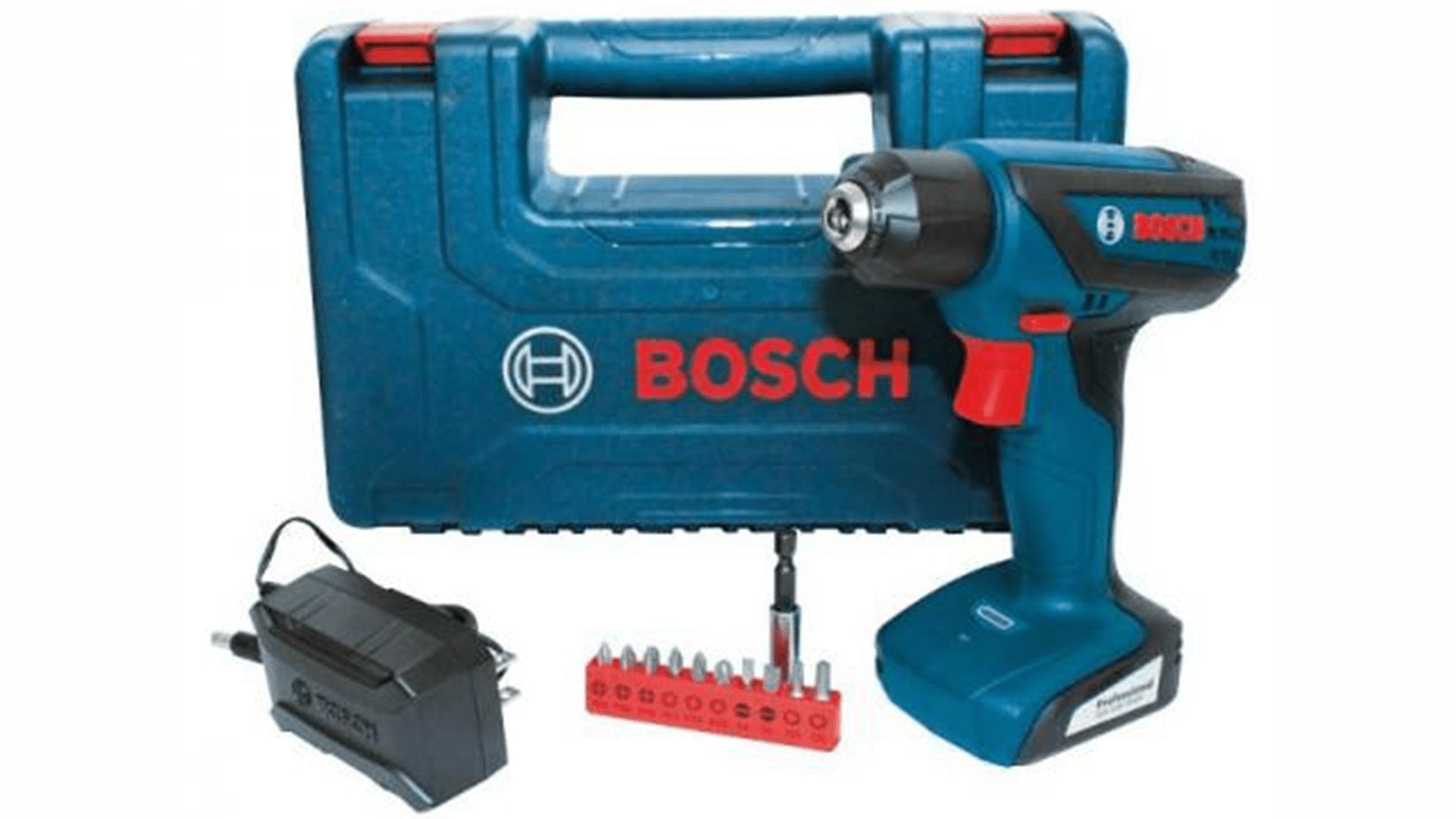 Parafusadeira  Bosch GSR 1000 Smart de 12 v – Review