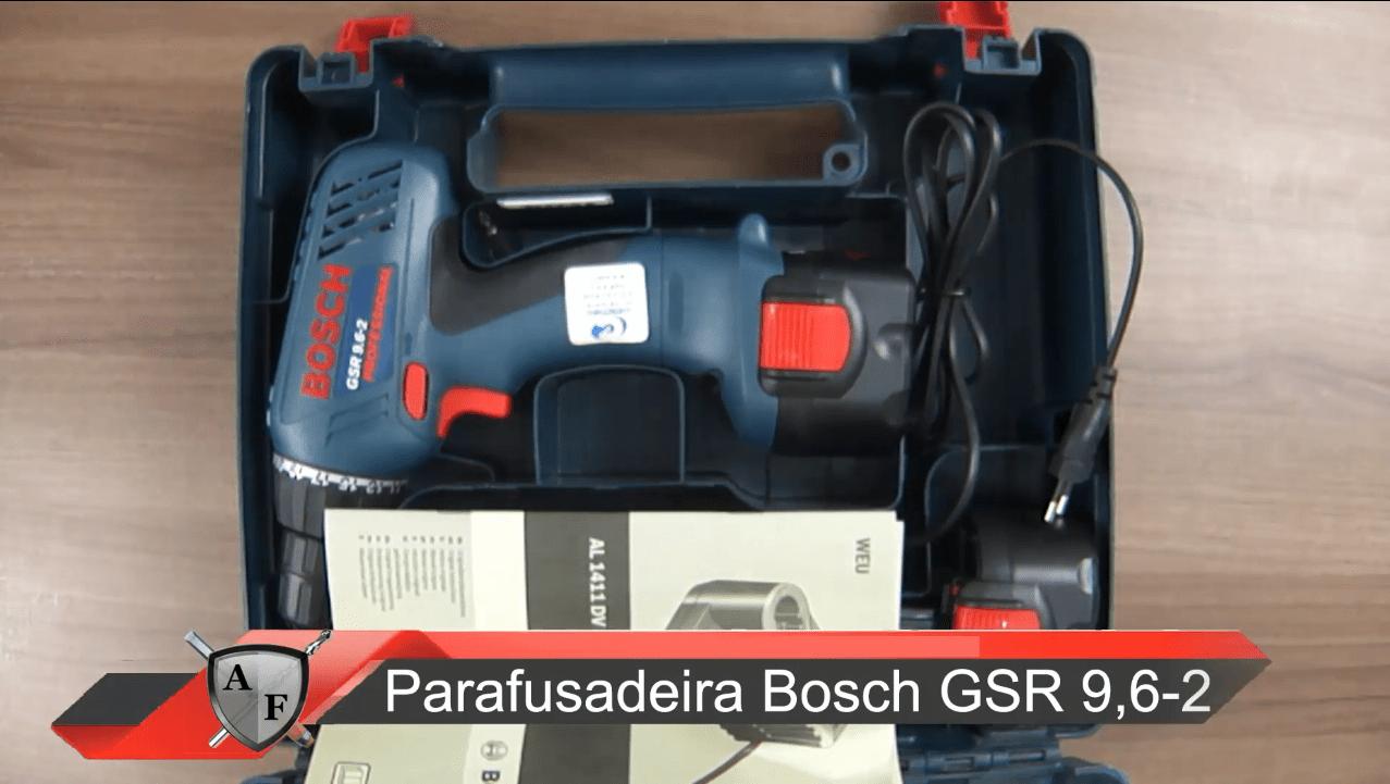 Parafusadeira Bosch GSR 9,6-2 – Review