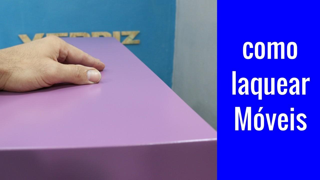 Como fazer pintura laca – aula completa