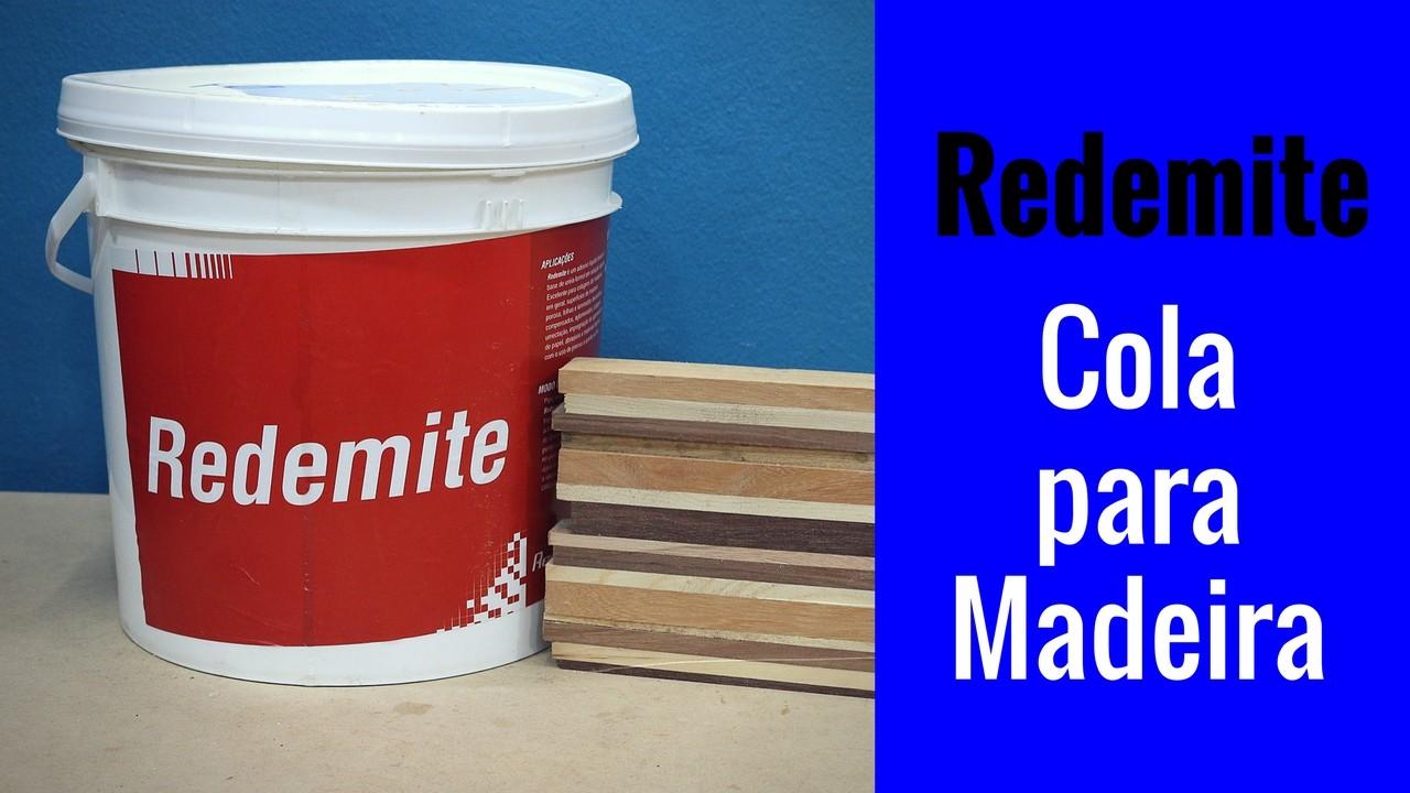 Cola Redemite – Cola para madeira