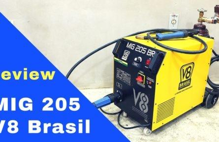 Solda MIG/MAG 205 V8 Brasil – Review