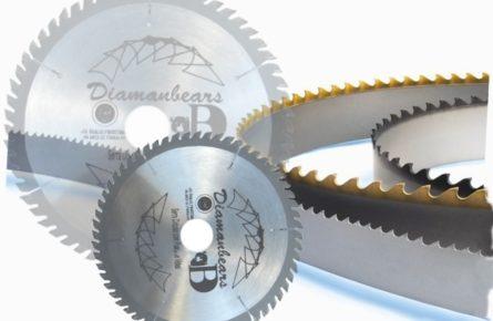 Como é fabricado uma lamina de serra circular