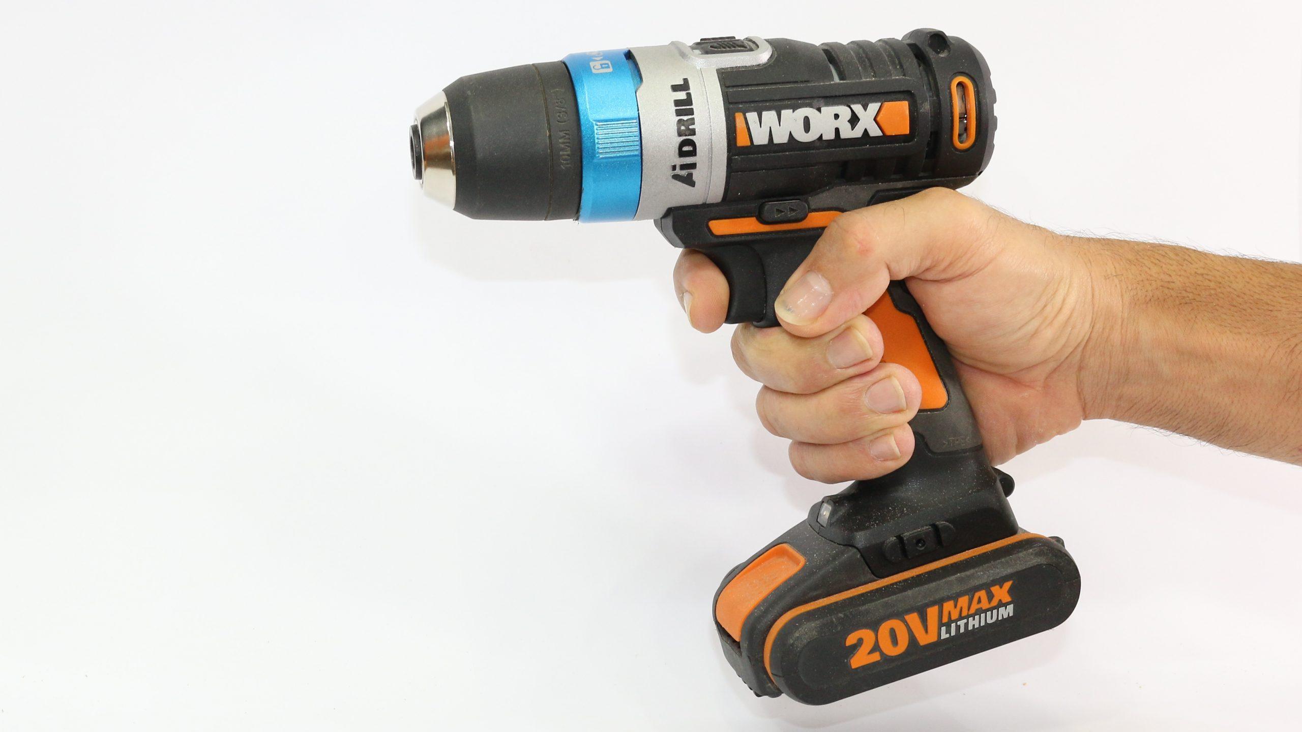 Parafusadeira e Furadeira Worx AI –  WX178 – Review