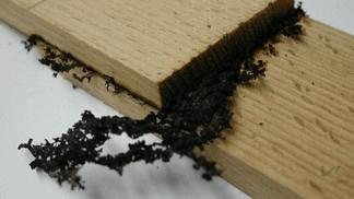 Soldagem de madeira