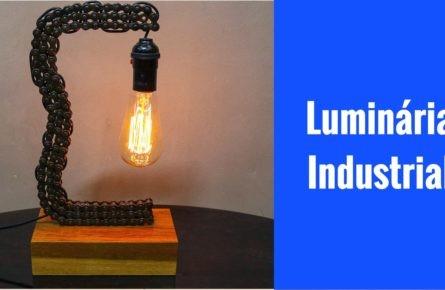 Luminária industrial  de corrente de moto
